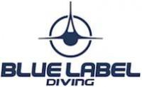 Blue Label Diving logo